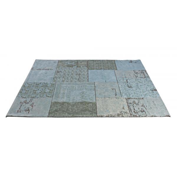 Covor Albastru Twist 160X230-0607429-Siart
