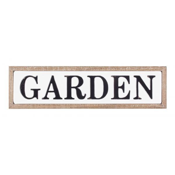 Placa Metalica Cu Rama Garden-0181711-Siart