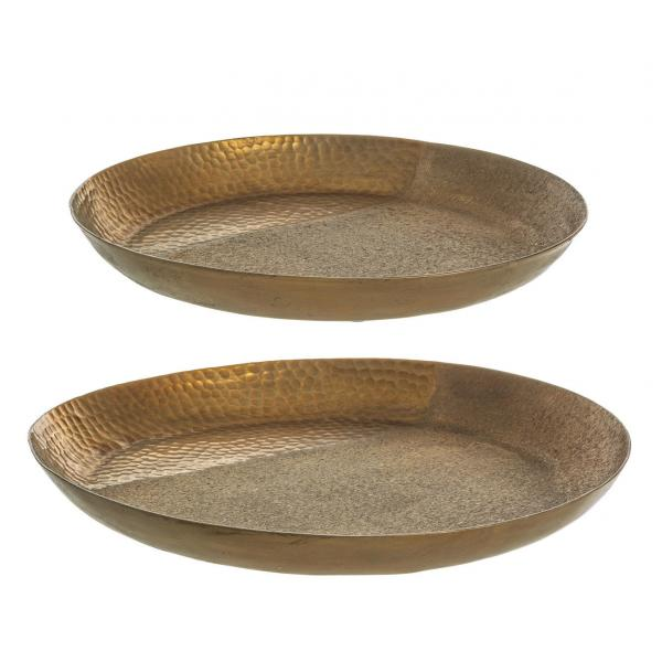 Set De 2 Platouri Decorative Aurii Hammel-0184171-Siart