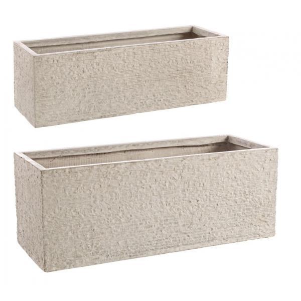 Set De 2 Vase Scunde Stone-0790552-Siart