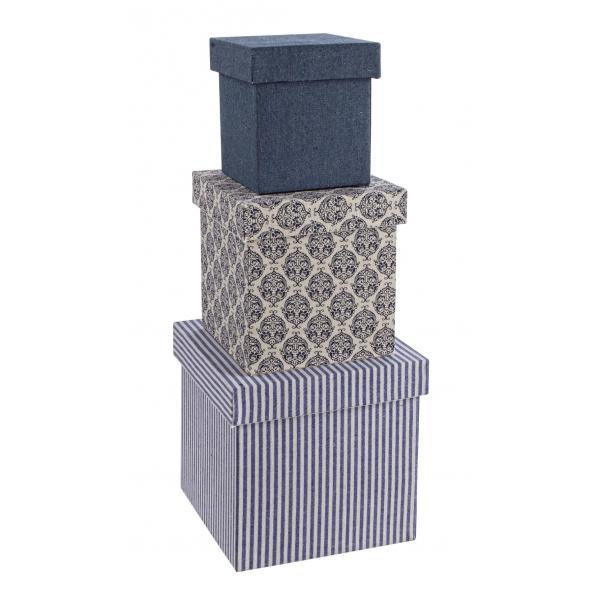 Set De 3 Cutii Pentru Bijuteri Retro-0183865-Siart