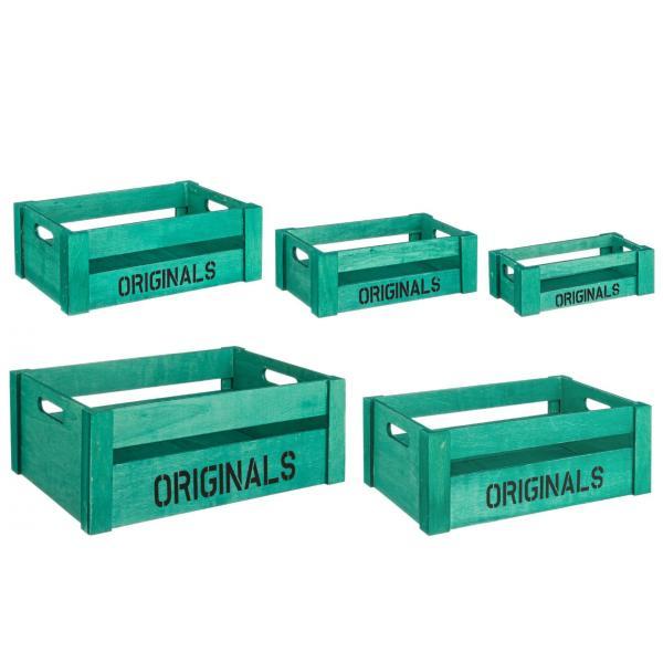Set De 5 Cutii Verzi Originals-0111072-Siart