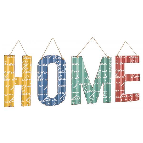 "Set Metalic Cu Literele ""Home""-0180464-Siart"